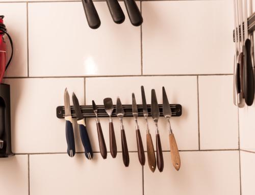 Hold styr på køkkenknivene med flotte knivmagneter