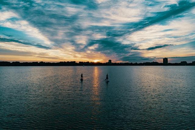 Drag på eventyr på vandet i eget tempo